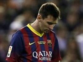 Lionel Messi could leave Barcelona as Catalan club see £250m Argentina star as saleable asset