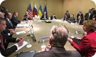 Russia, Ukraine, US and EU reach deal on defusing crisis in Ukraine