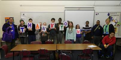 Plainfield South Students Say Thanks
