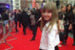 Tamworth girl on red carpet at Divergent film premiere in...