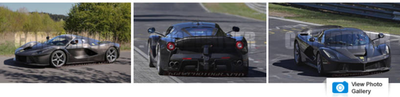 Ferrari LaFerrari XX Confirmed, Is This It Spied at the Nürburgring?